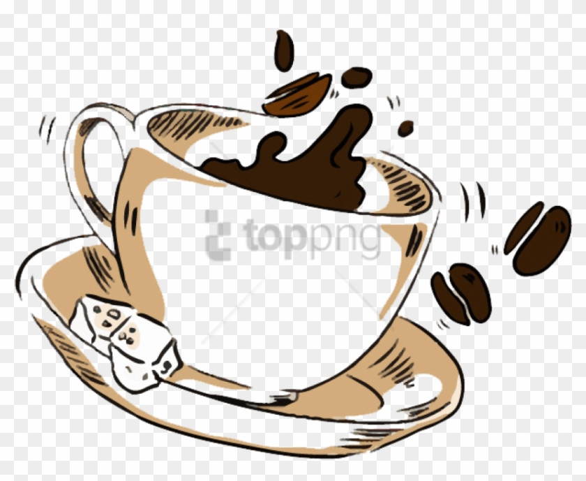 Free Png Cup Of Coffee Png Image With Transparent Background.