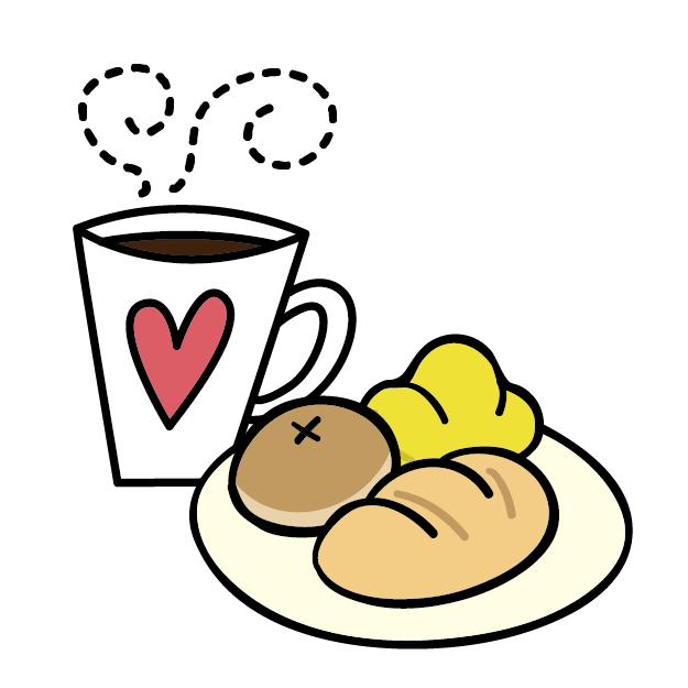 Clipart coffee bagels, Clipart coffee bagels Transparent.