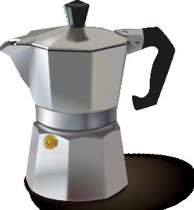 Italian Coffee Maker Clip Art at Clker.com.