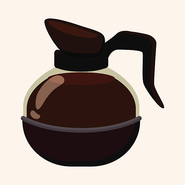 122 Coffee Pot free clipart.