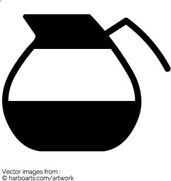 Coffee Pot Clipart.