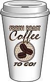 Coffee To Go Clip Art.