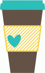 Paper coffee cup clipart.