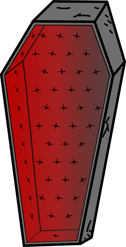Free Clipart: Coffin.
