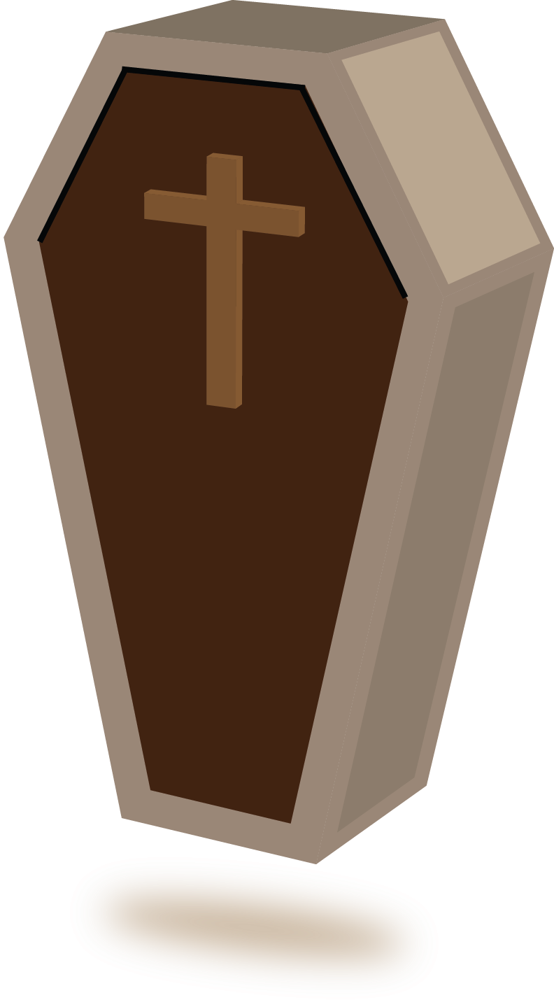 Free to Use & Public Domain Coffin Clip Art.