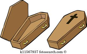 Coffin Clipart and Illustration. 2,459 coffin clip art vector EPS.