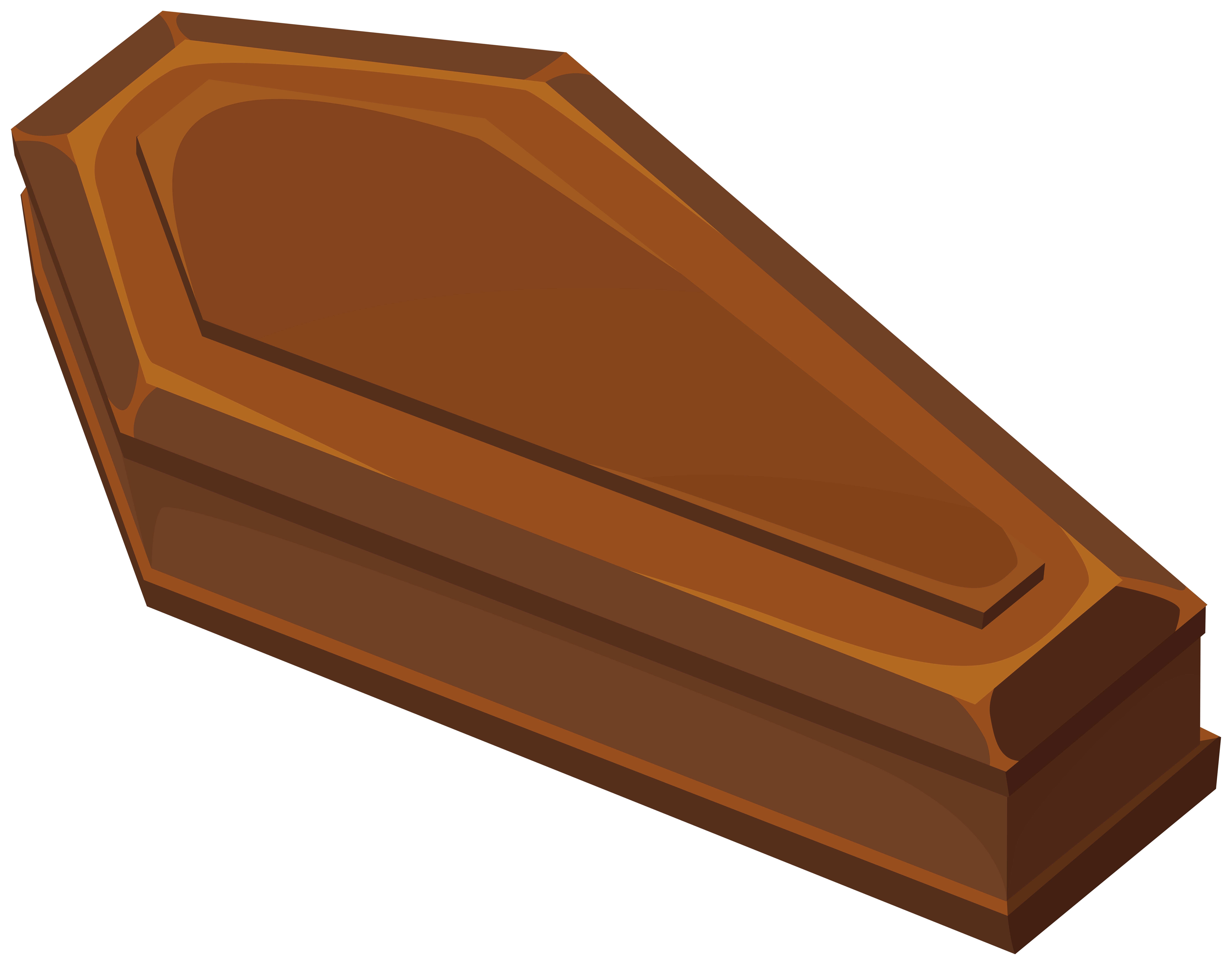 Halloween Wooden Coffin PNG Clipart.