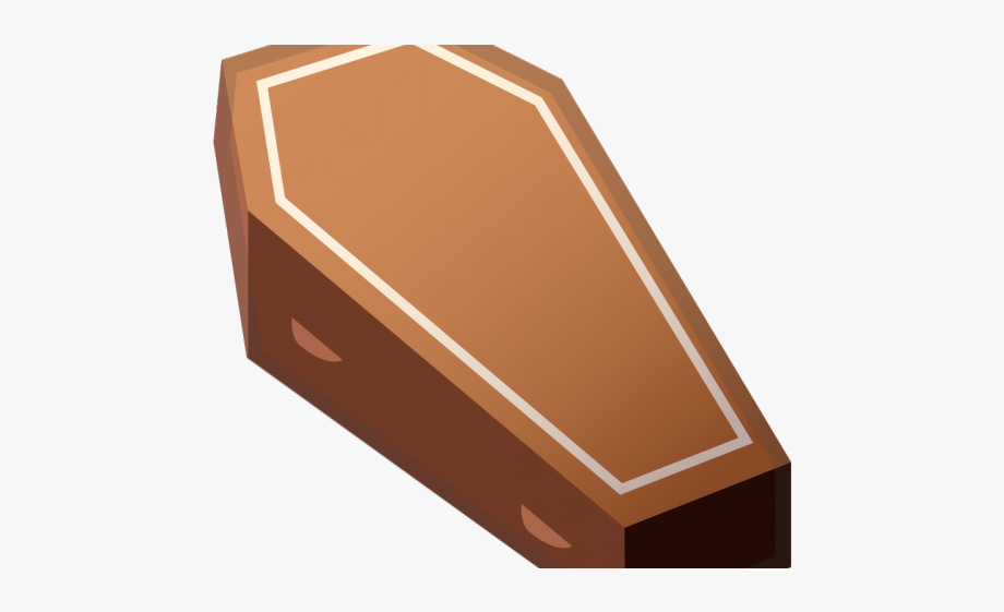 Coffin Clipart Wood Box.
