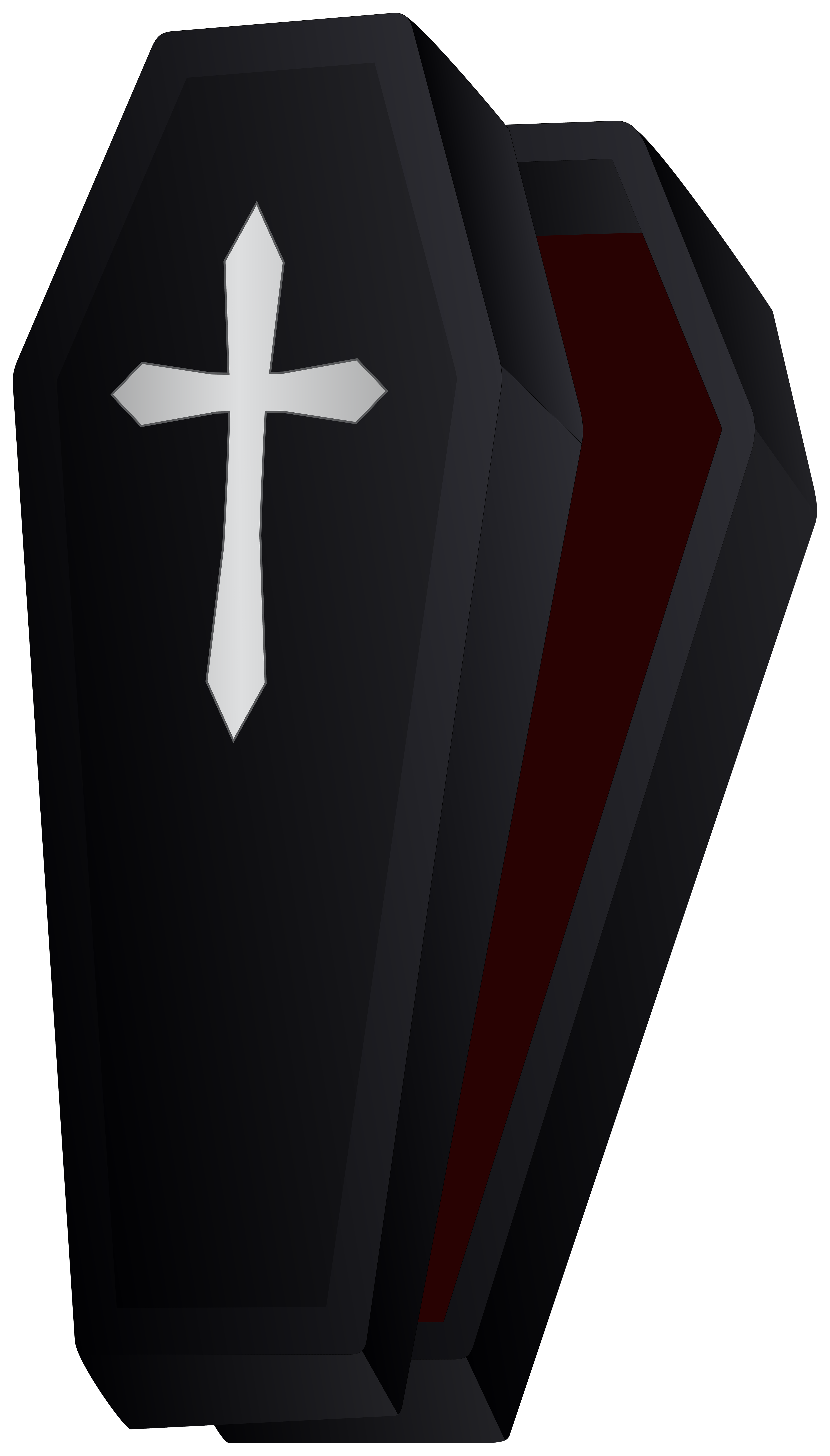 Coffin Halloween PNG Clipart.
