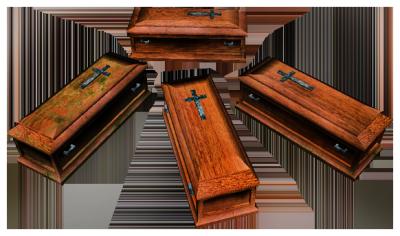 caskets.