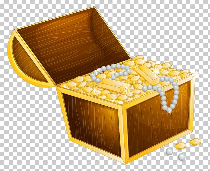 Tesoro enterrado, cofre del tesoro PNG Clipart.