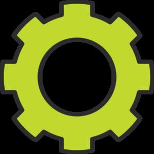 Gear Green Cog Clip Art at Clker.com.