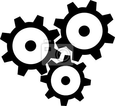Gears and cogs clipart.