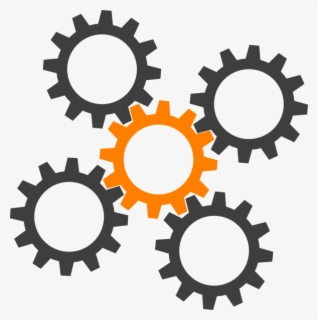 Free Cog Clip Art with No Background.