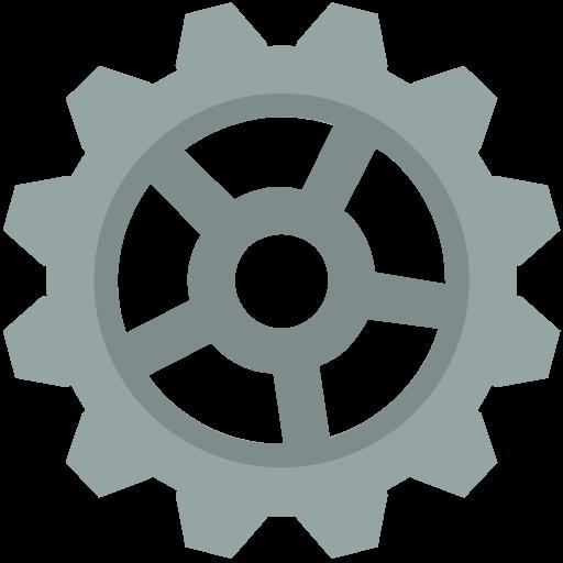 cog icon.