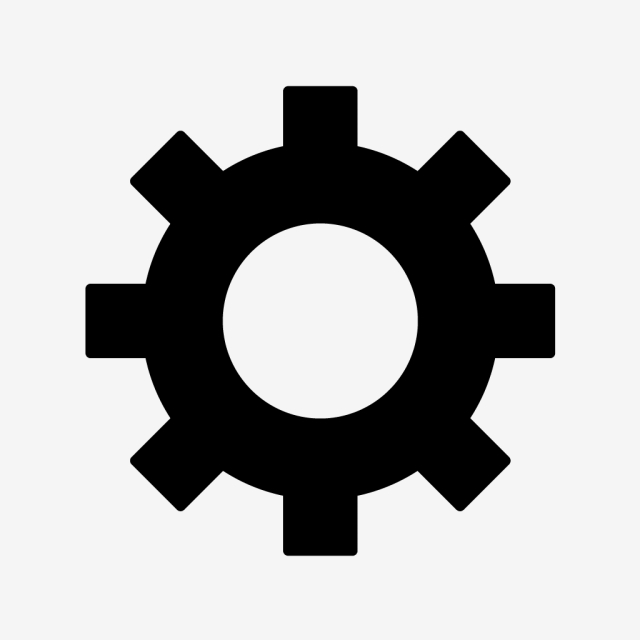 Vector Cog Wheel Icon, Cog, Settings, Wheel Icon PNG and Vector with.