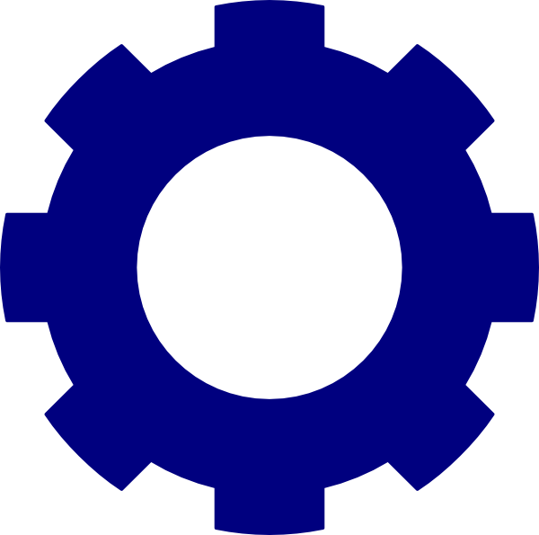 Blue Wheel Clipart.