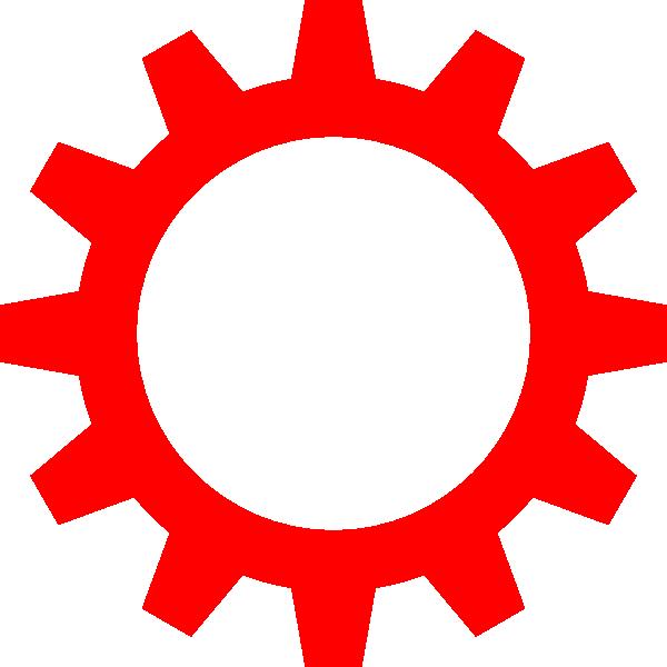 Cogwheel Symbol Clip Art at Clker.com.