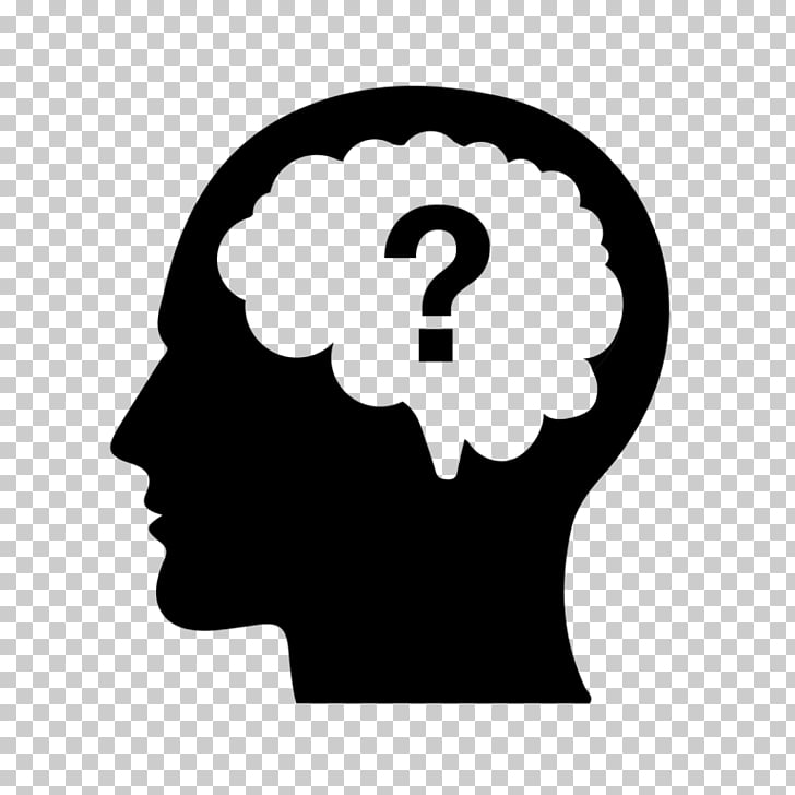 Question mark Cognitive training Brain Mind, Brain PNG.