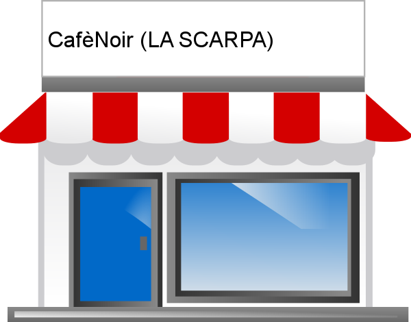 CafèNoir (LA SCARPA), scarpe a Cogoleto.
