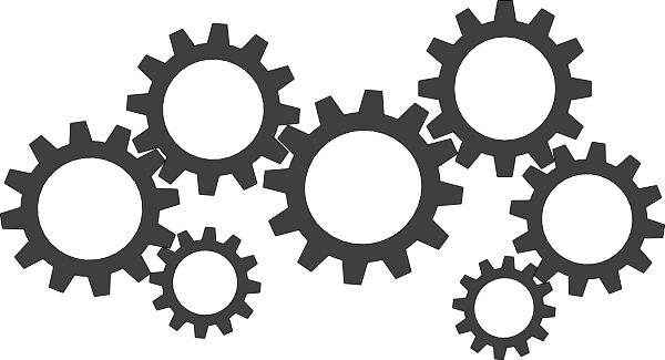 PNG HD Gears Cogs Transparent HD Gears Cogs.PNG Images..