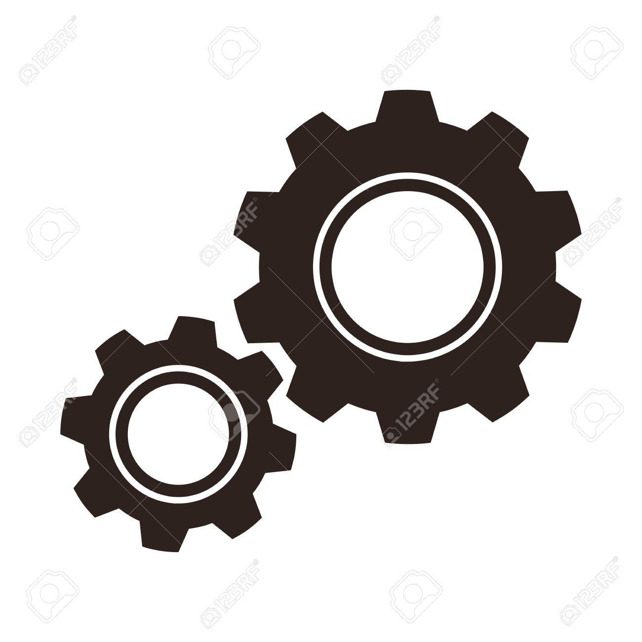 Gears (cogs) icon » Clipart Portal.