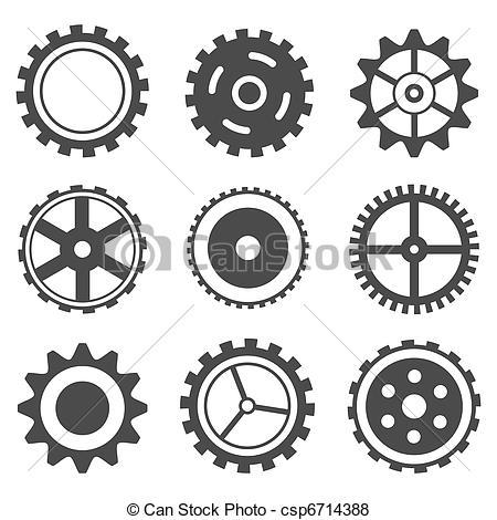 Cog wheel Clip Art Vector Graphics. 11,833 Cog wheel EPS clipart.