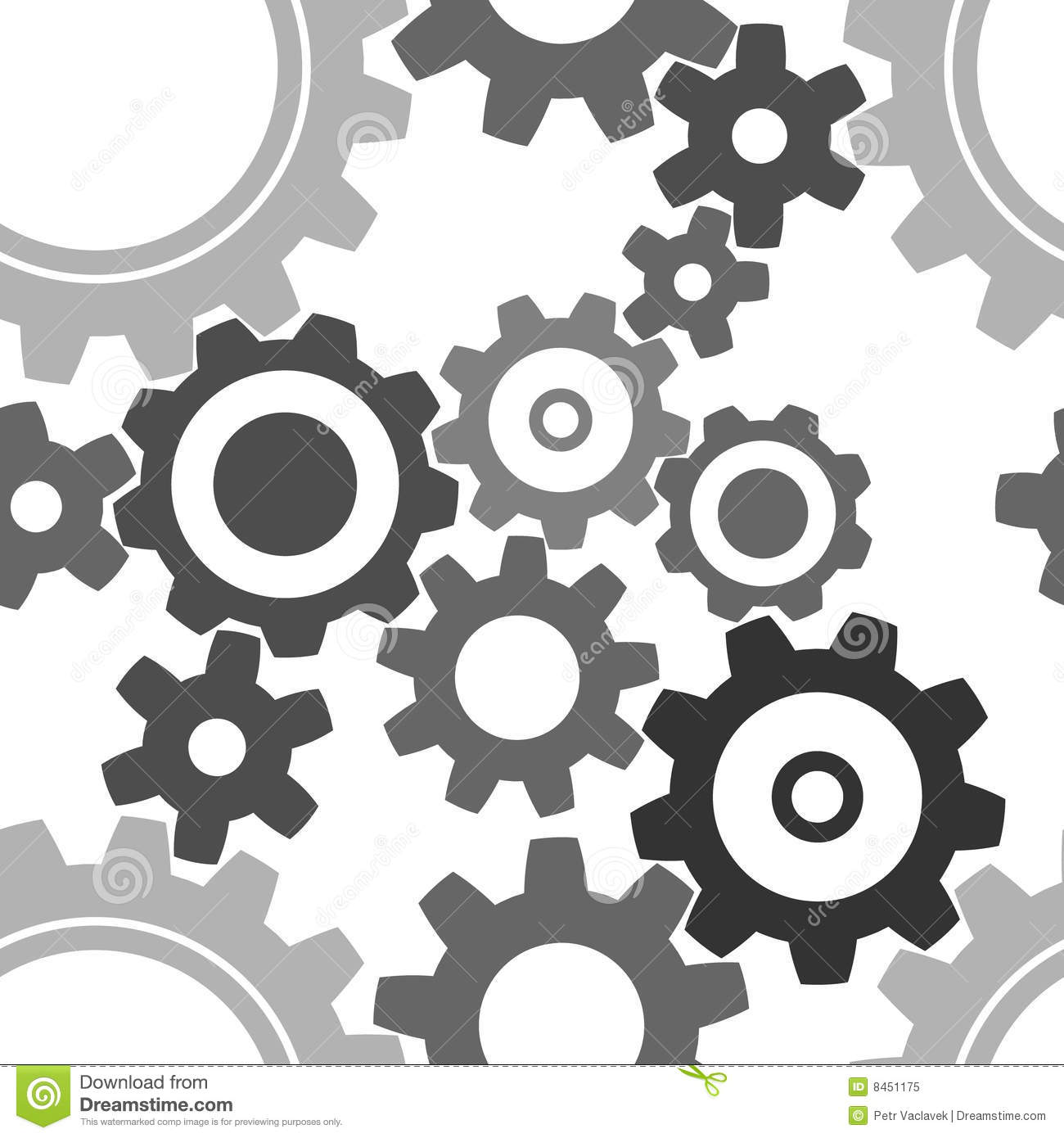 Cogwheel Stock Illustrations.