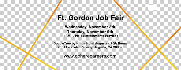 Job fair News Fort Gordon Cohere Technology Group, LLC.