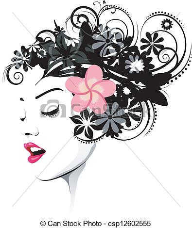 Hairstyle Clip Art Vector and Illustration. 23,945 Hairstyle.
