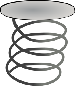 Clipart coil spring.