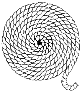 Coil Of Rope Clipart.