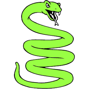 Snake Coiled clipart, cliparts of Snake Coiled free download.
