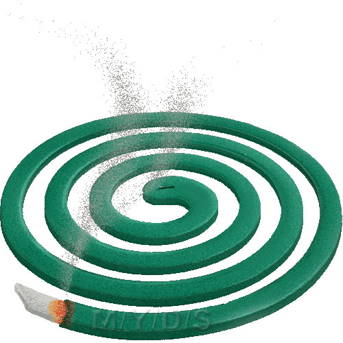 Mosquito Coil clipart / Free clip art.