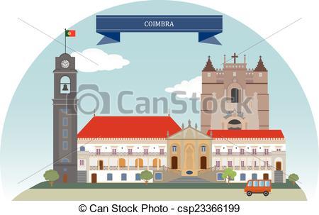 EPS Vectors of Coimbra, Portugal. For you design csp23366199.