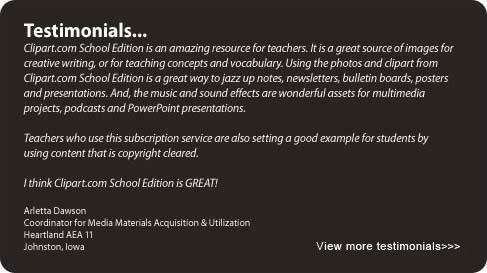 Clipart.com School Edition.