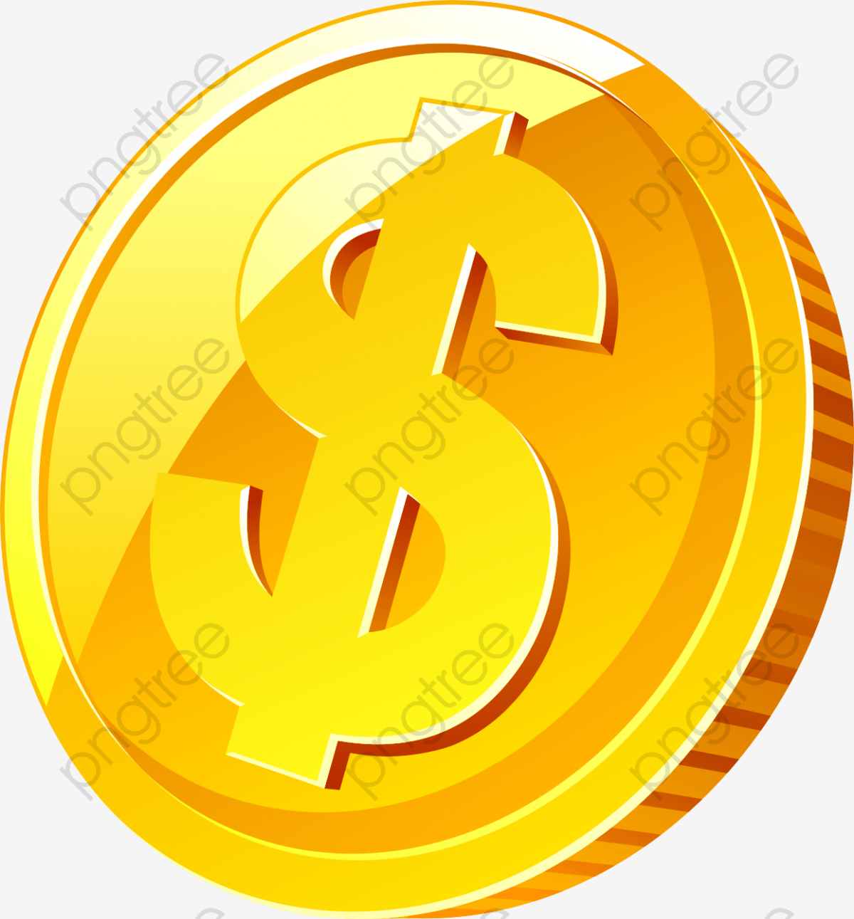 Coin, Coin Clipart, Money PNG Transparent Clipart Image and PSD File.