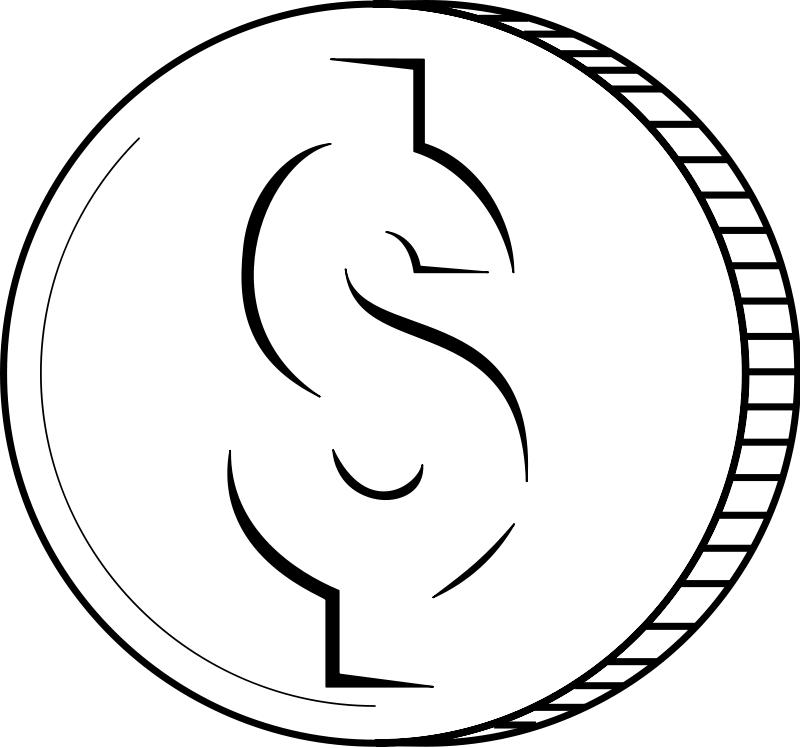 Coin Money Clipart.