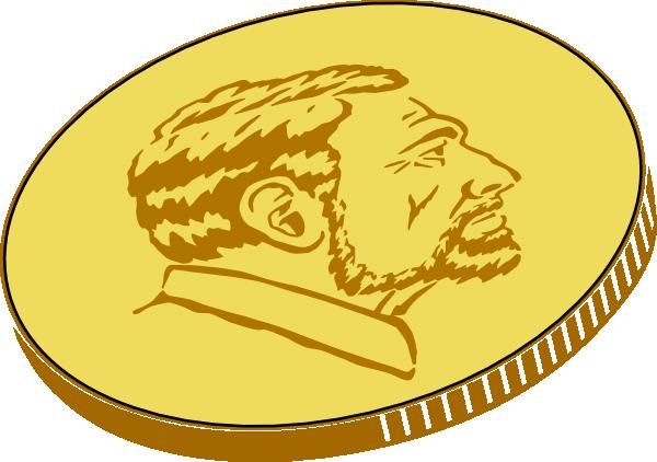 Gold Coin Clip Art at Clker.com.
