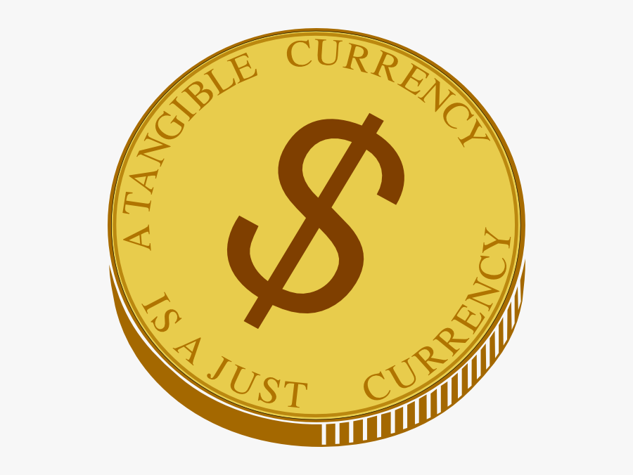 Transparent Blank Gold Coin Png.