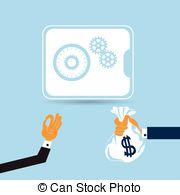 Safe deposit box Vector Clipart Illustrations. 2,316 Safe deposit.