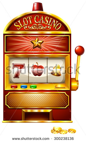 Slot Machine Stock Photos, Royalty.
