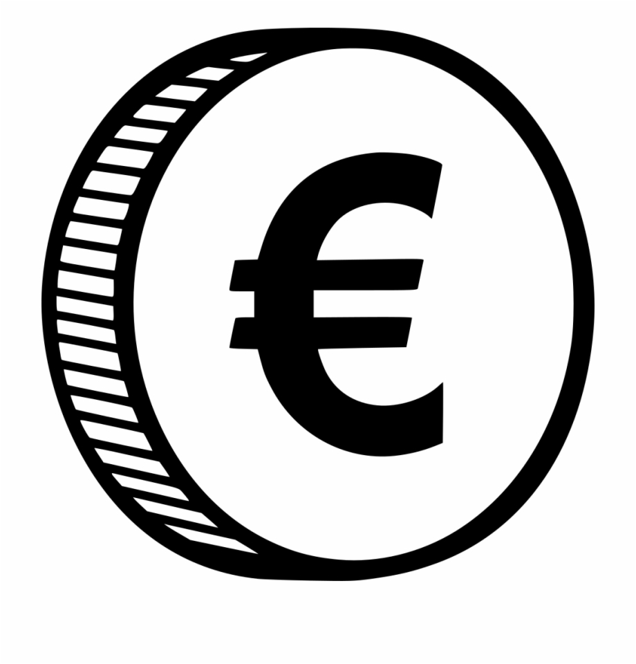 Coin Png Icon Euro Coin Icon Png.