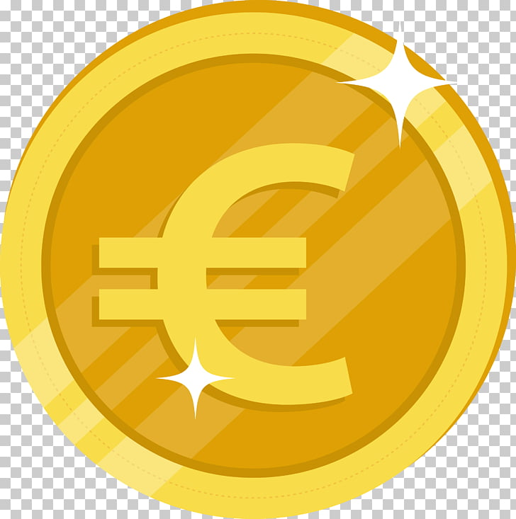 Gold coin Icon, Gold coins PNG clipart.