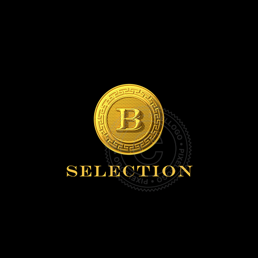 Gold Coin Luxury Shop logo.