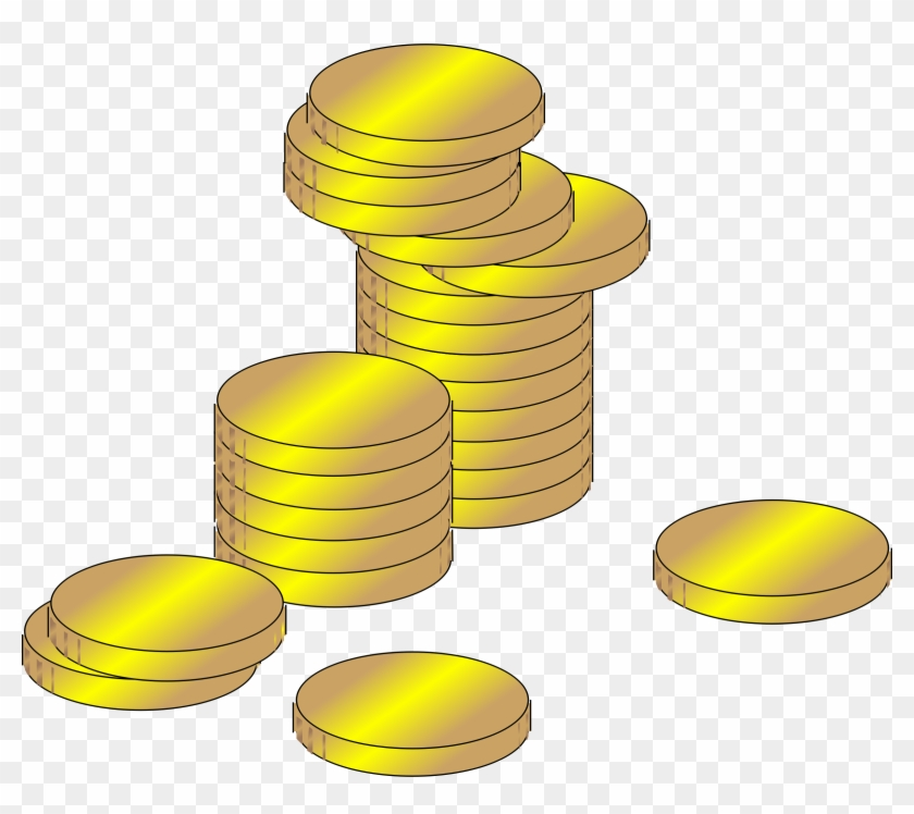 Clipart Library Download Coin Clip Clipart Gold.