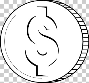 Coin Black and white Free content , Free s Of Money PNG.
