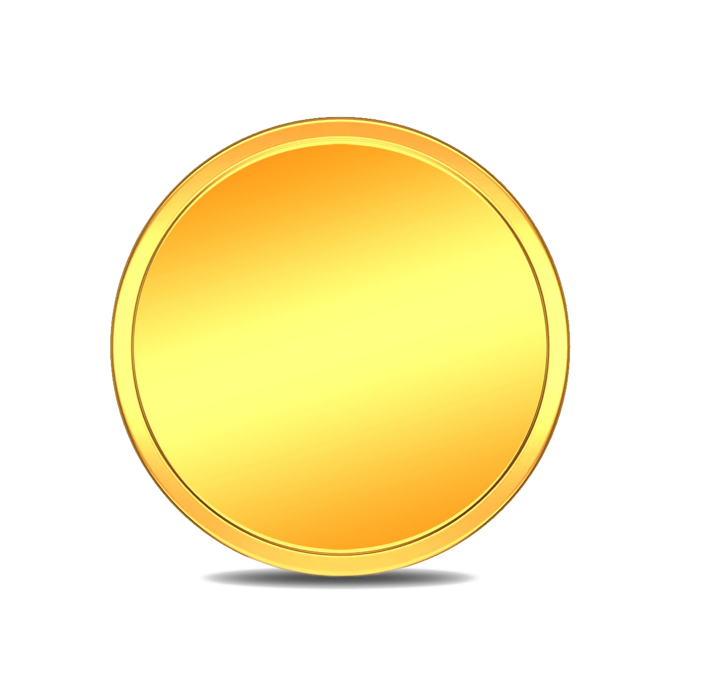 Coin PNG Image Transparent Background.
