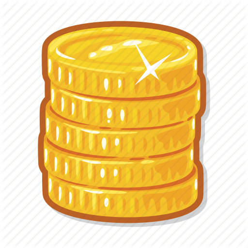 Gold Coin Icon Png #3830.