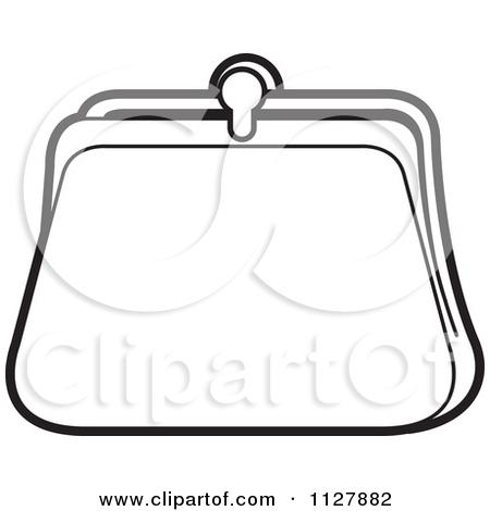 Coin purse clipart - Clipground Purse Clipart Black And White
